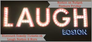 Laugh Boston Comedy Club Discount Tickets