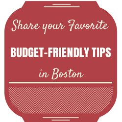 budget-friendly tips in boston