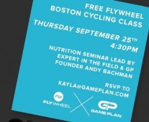 Free Flywheel Class Boston