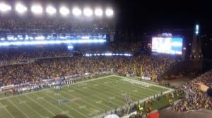 A Playoff Patriots Game at Gillette Stadium