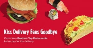 Grub Hub Boston Free Delivery