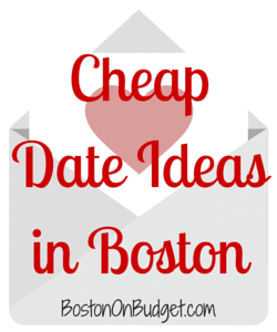 Unique date ideas boston