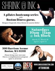 Free Pilates Classes in Boston