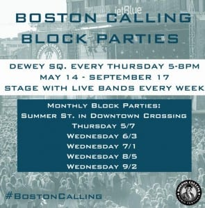 Free Boston Calling Block Party