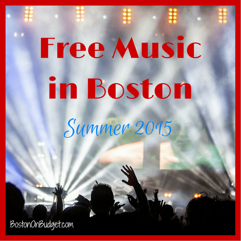 Free Music Series in Boston for Summer 2015