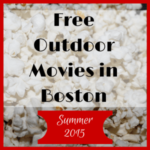 Free Outdoor Movie Series in Boston