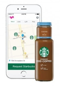 Lyft and Starbucks Promotion