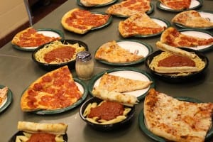 all-you-can-eat pizza at Papa Gino's
