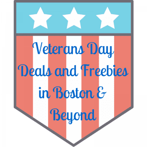 Veterans Day Deals in Boston 2015