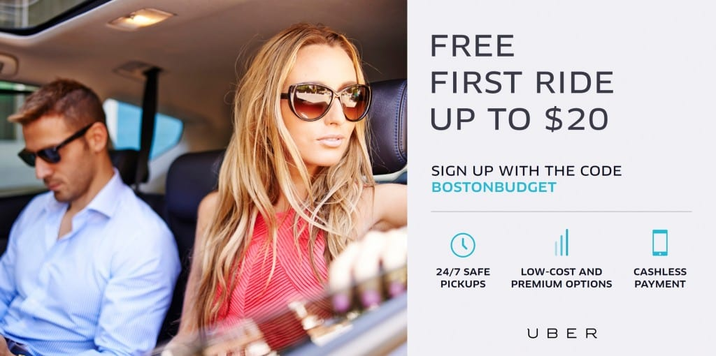 Free Uber Promo Code for Boston