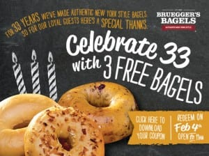 Free Bagels in Boston