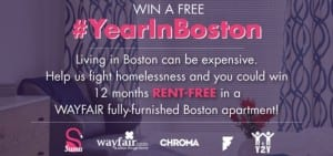 Win Free Apt in Boston
