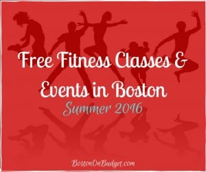 Free Fitness Classes in Boston 2016