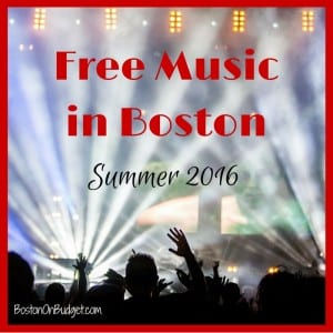 Free Concerts in Boston 2016