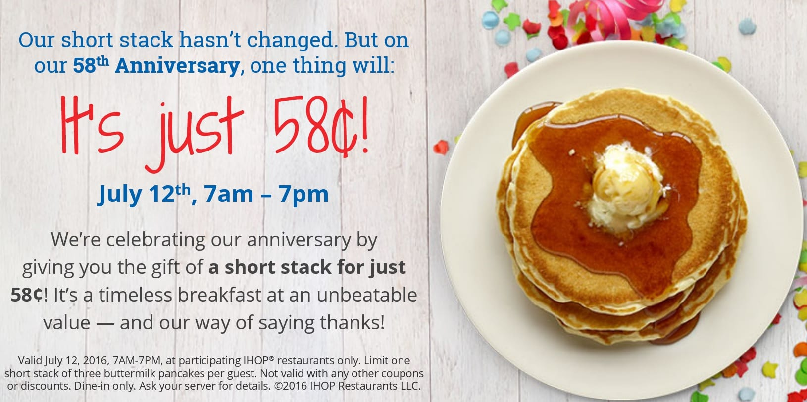IHOP Pancakes for .58 in Greater Boston! | Boston on Budget