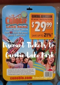 Canobie Lake Park Discounts