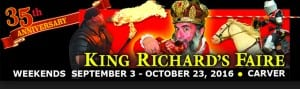 Discounts and Coupons for King Richard's Faire