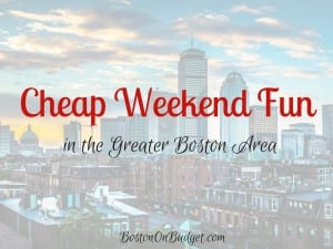 Free Weekend Events in Boston