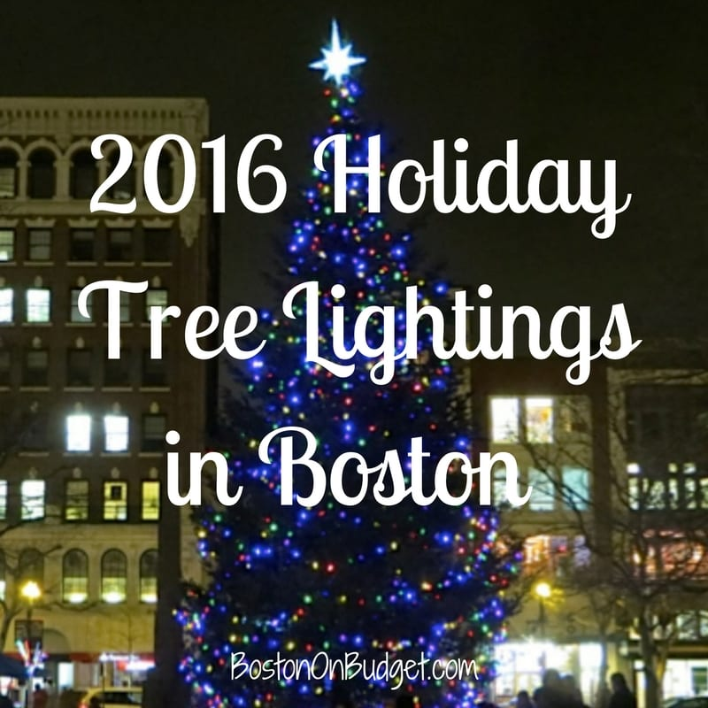 Boston Tree Lightings Christmas 2016 : boston faneuil hall tree lighting - www.canuckmediamonitor.org