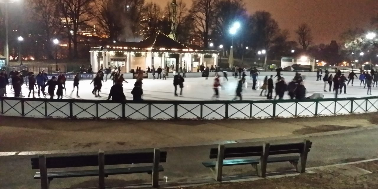 Discount Tickets for Ice Skating at Boston Common Frog Pond