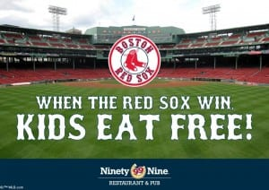 99 Kids Eat Free Red Sox