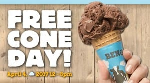 Ben & Jerry's Free Ice Cream