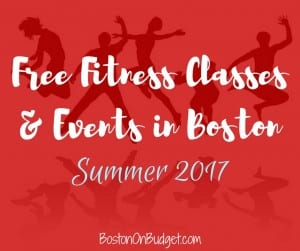 Boston Free Fitness Classes and Events in Boston