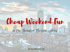 Free Things to Do this Weekend in Boston