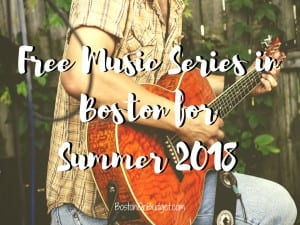 Free Live Music in Boston