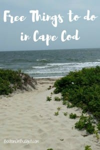 Cape Cod, MA Free Things to Do