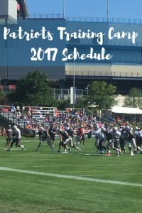 2017 New England Patriots Training Camp at Gillette Stadium