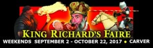 King Richard's Faire 2017