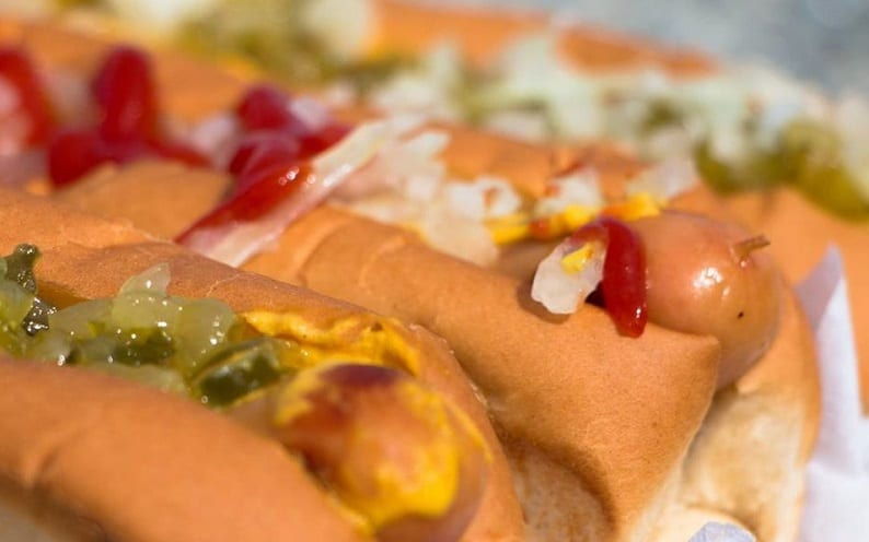 Half Price Hot Dogs at Sullivan's for Opening Week!