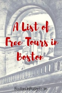 Free Boston Tours