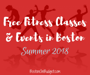 Boston Free Fitness Classes