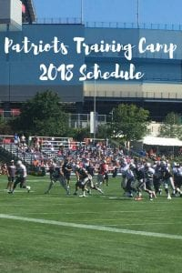 Pats Training camp 2018