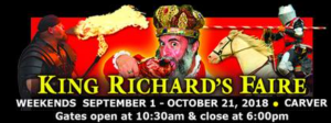 King Richard's Faire Discounts 2018