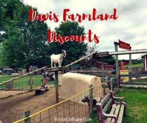 Discount Tickets to Davis Farmland