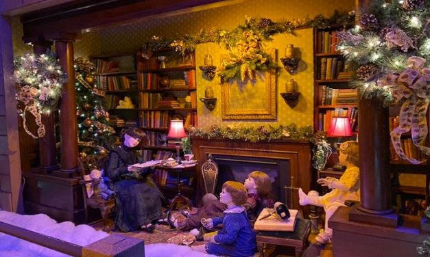 The Enchanted Village at Jordan's Furniture Offers Holiday Fun