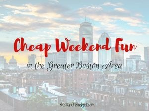 free events in boston this weekend