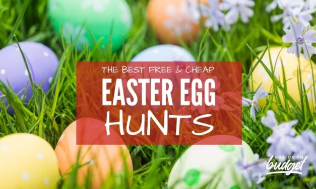 The Best Free and Cheap Easter Egg Hunts in Boston