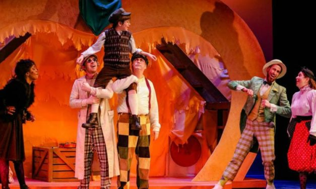 Experience the Magic of James and the Giant Peach in a New Musical Adventure