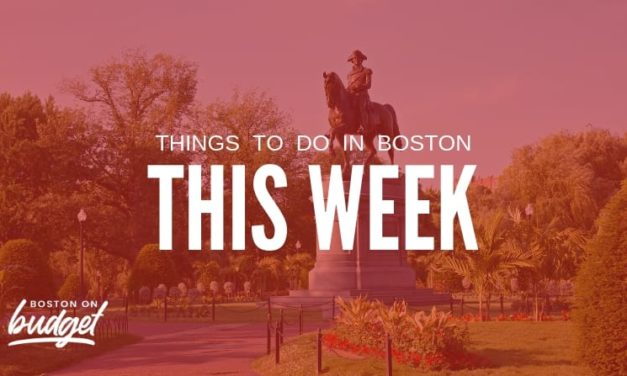 Things to do in Boston This Week (October 14-20): Free and Cheap Events