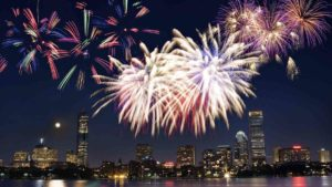 Lighted Boat Cruise with Fireworks Tickets