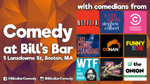 Comedy at Bill's Bar
