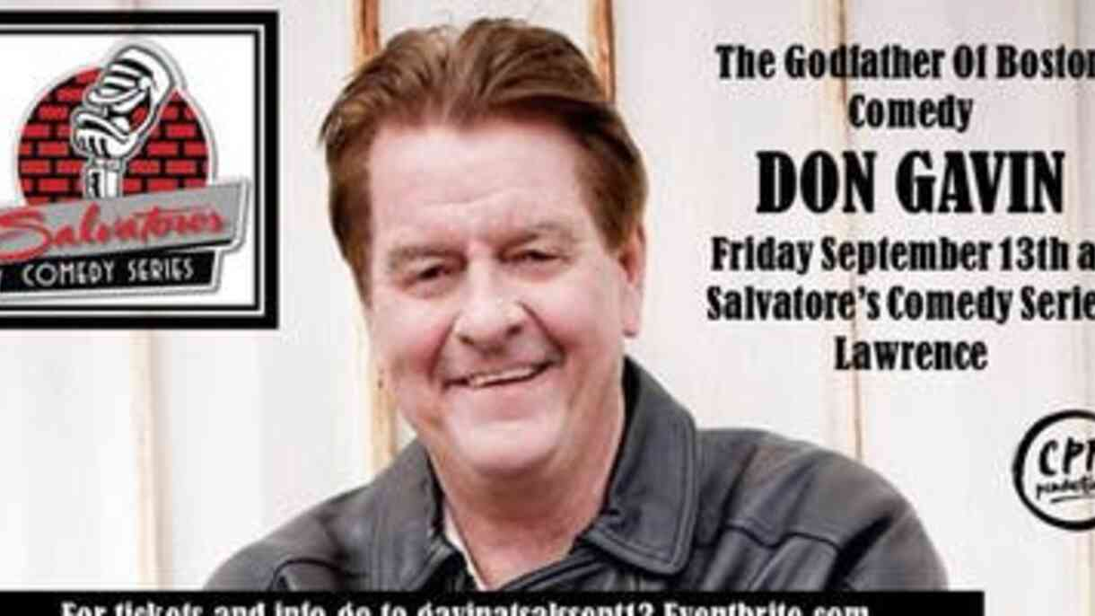 Don Gavin Comedy Show Tickets