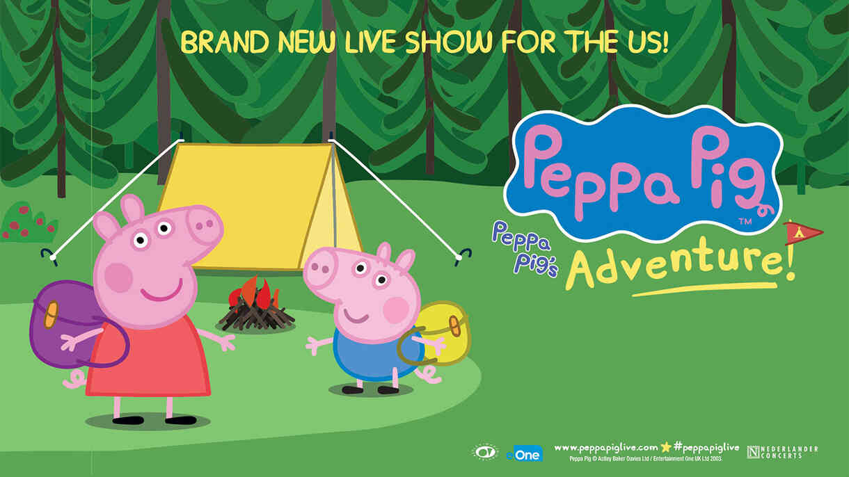 Peppa Pig Live Adventure Tickets