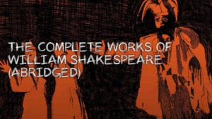 Complete Works of William Shakespeare Tickets