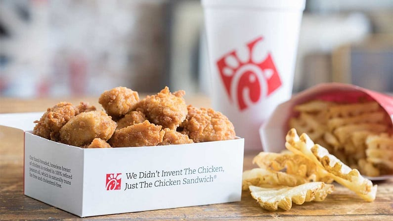 Free Food At Chick-Fil-A This Month: 8-Piece Nuggets or New Kale Crunch Salad