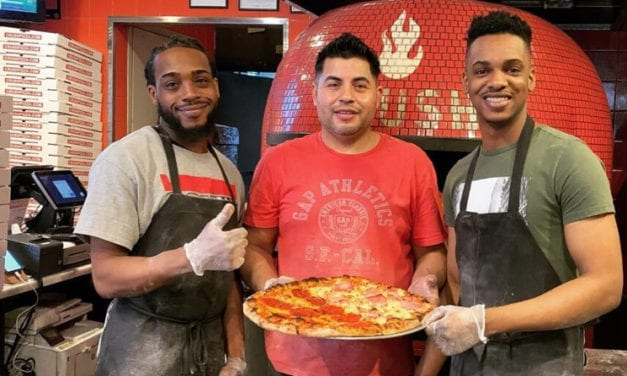 Crush Pizza Offering Free Pizza Slices to People Who Need Them